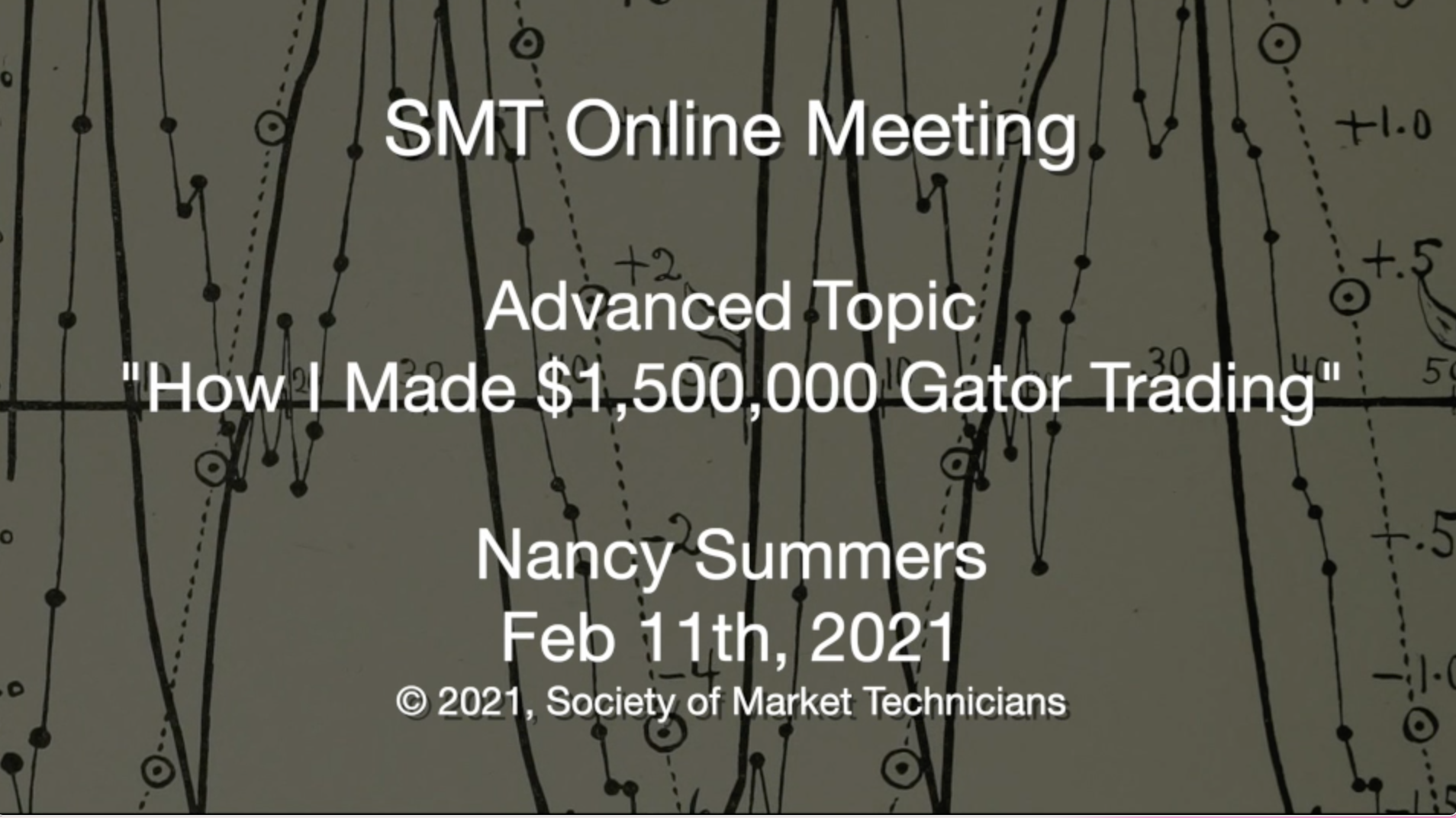 Advanced Topic: How I Made $1,500,000 Gator Trading